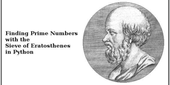 Sieve of Eratosthenes in Python