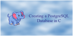 Creating a PostgreSQL Database in C