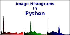 Image Histograms in Python