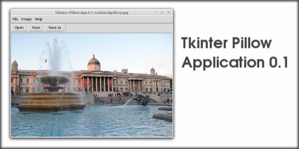 Tkinter Pillow Application 0.1
