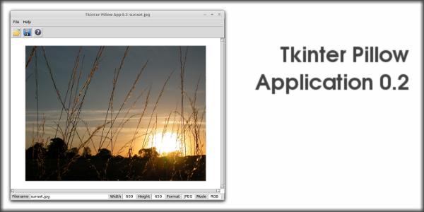 Tkinter Pillow Application 0.2
