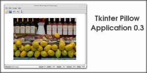 Tkinter Pillow Application 0.3
