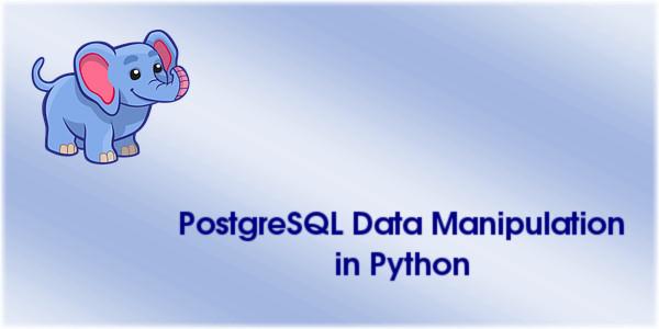 PostgreSQL Data Manipulation in Python